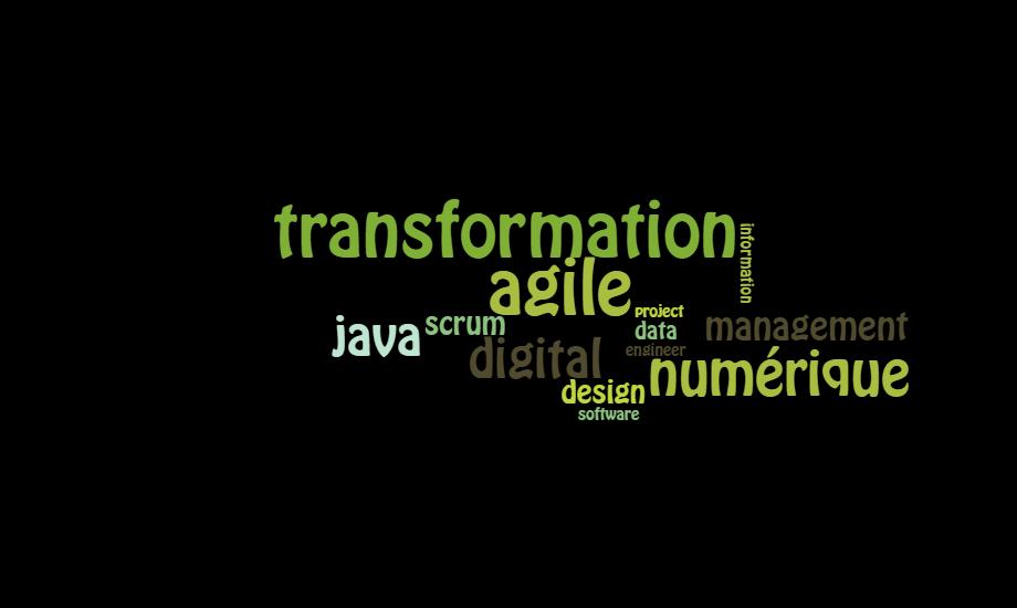 Service, digital, transformation numérique, agile, scrum